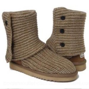 Ugg Oatmeal Cardy Boots Size 9